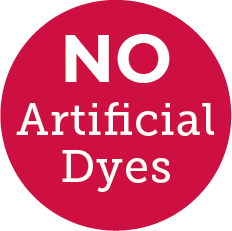 No Artificial Dye