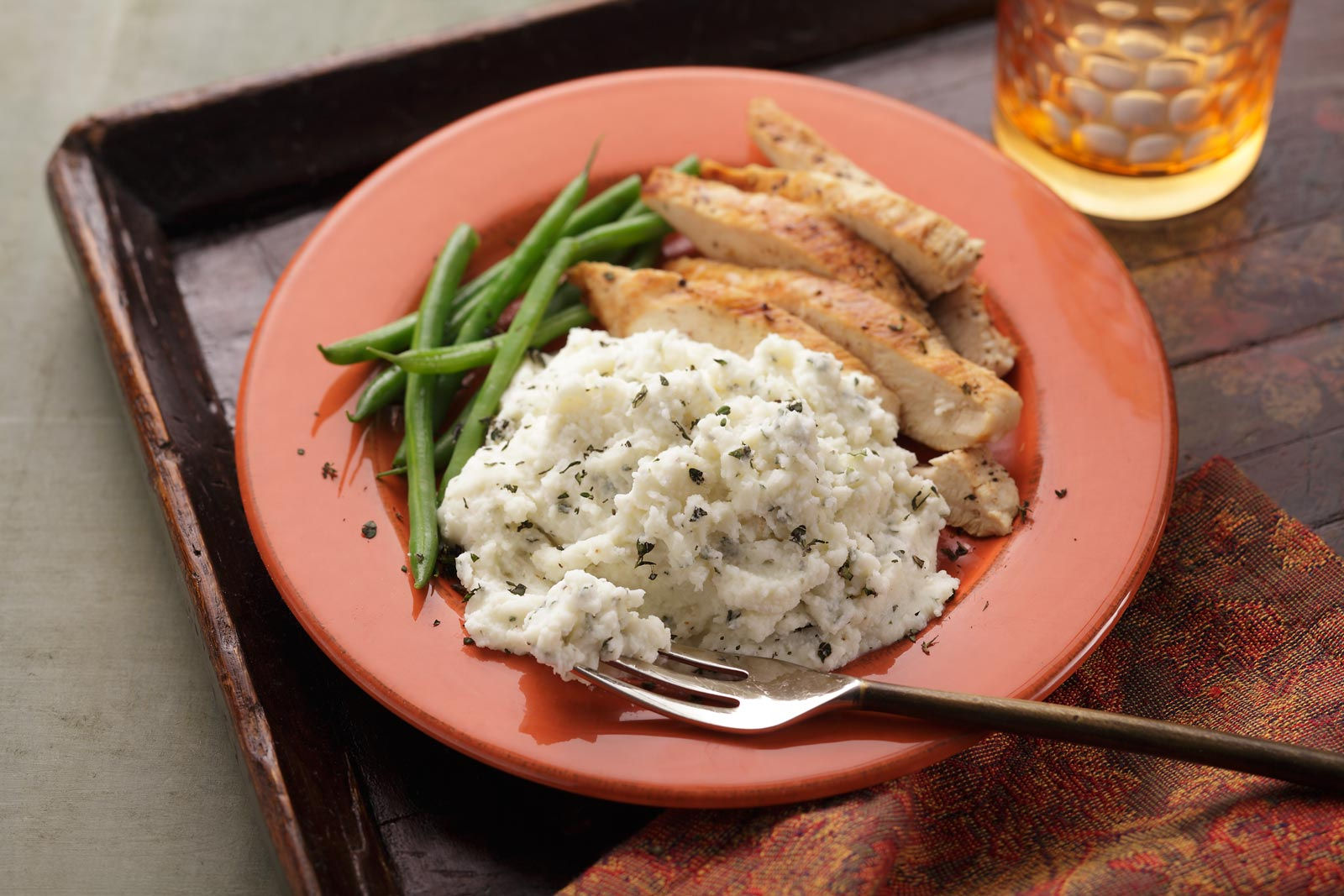 Add a little cheese and thyme to our Buttery Homestyle Mashed Potatoes