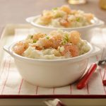 Shrimpy Mashed Potatoes is an easy, but impressive, dish.