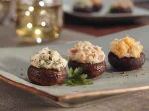 Italian Potato Stuffed Mushrooms Recipe