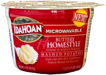 Buttery Homestyle Flavored Mashed Potatoes Microwaveable Cup