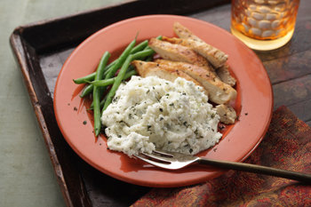 Herbed Buttery Mashed Potatoes