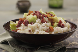 Corned Beef and Cabbage Mashed Potatoes