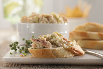 Buttery Crab and Artichoke Dip