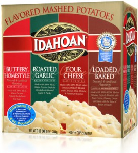 Flavored Mashed Potatoes Club Variety Pack