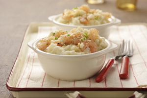 Shrimpy Mashed Potatoes