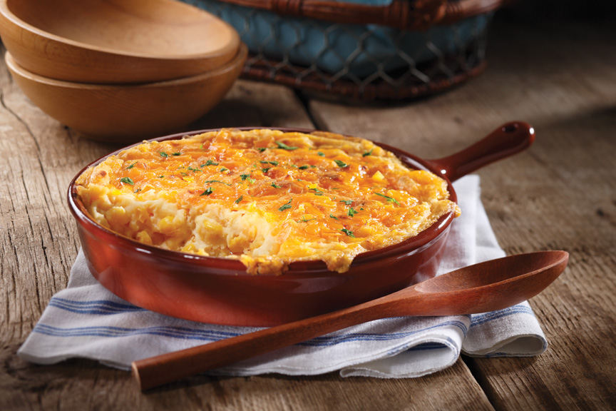 Four Cheese Corn Dip