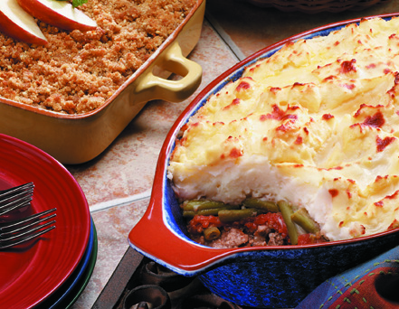 Shepherd's Mashed Potato Pie