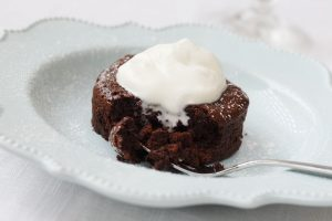 Idahoan mashed potatoes are the secret ingredient in this Molten Lava Cake recipe