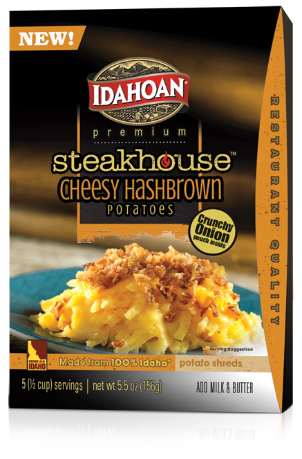 00195 Steakhouse Cheesy Hashbrown