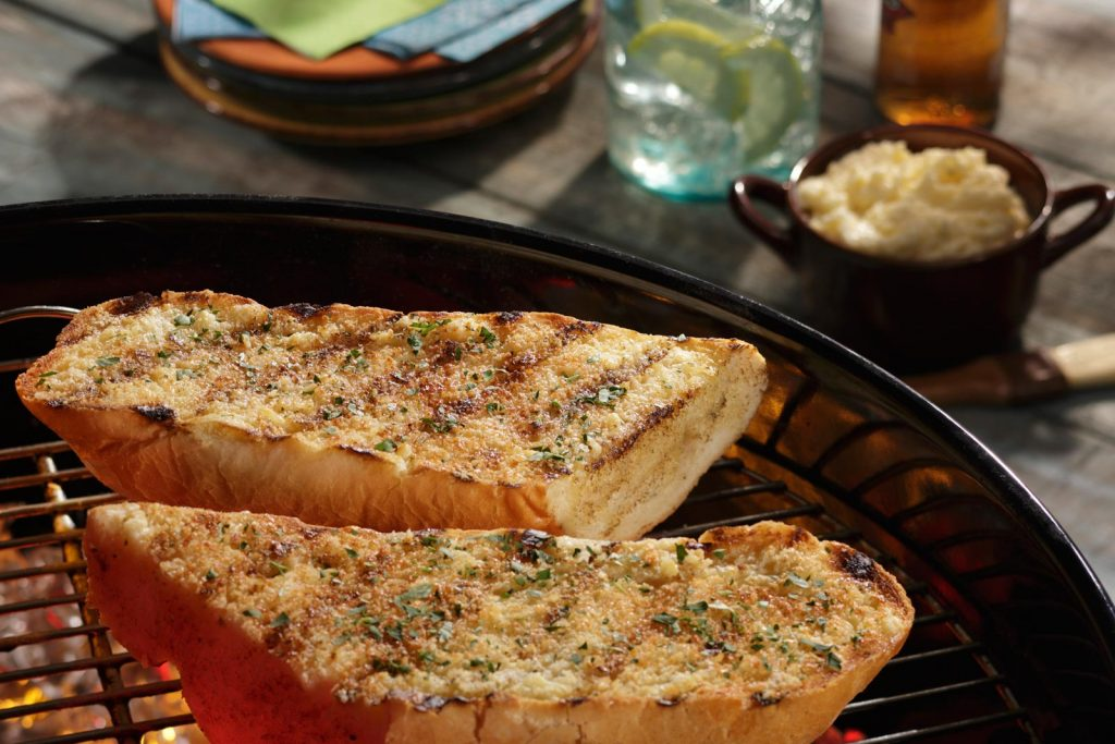 Grilling Mashed Potatoes takes a different spin with this recipe for garlic French bread.