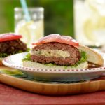 Grill Mashed Potatoes incognito with this Secret Ingredient Burger recipe.
