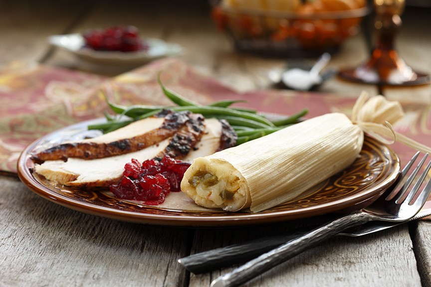 Idahoan Cheese and Chili Tamales