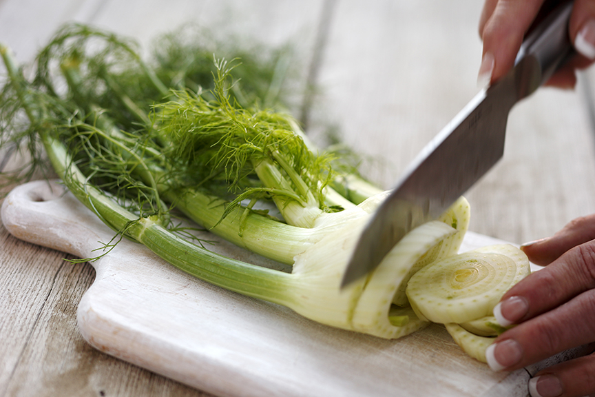 Fennel cutting 1