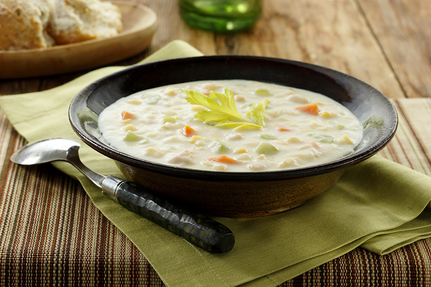 Clam and Corn Chowder
