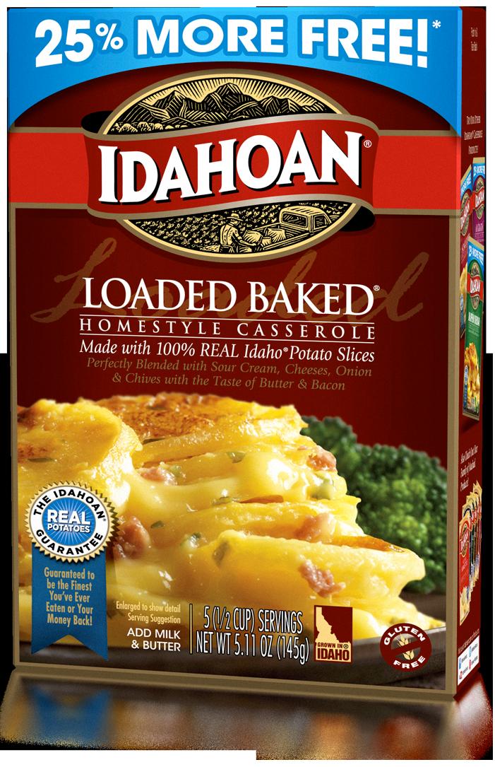 Idahoan Loaded Baked Potato Casserole