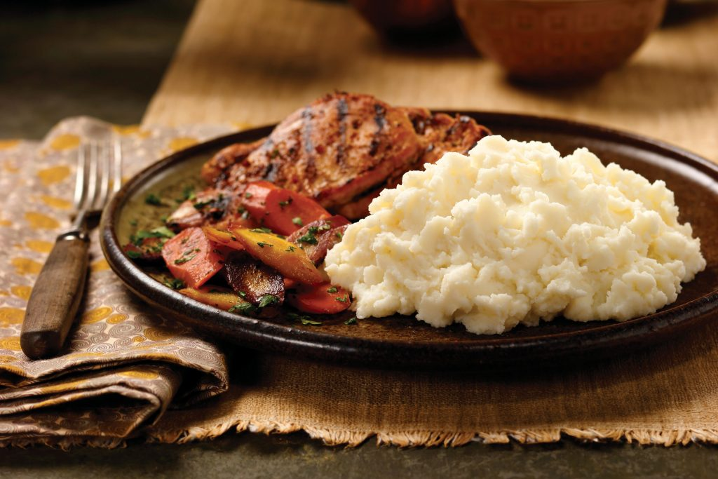 Buttery Homestyle is the classic mashed potato
