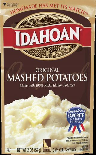 Idahoan Original Mashed Potatoes Idahoan Mashed Potatoes