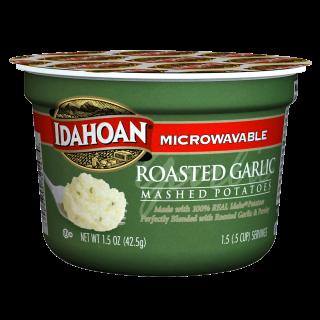 Roasted Garlic Mashed Potatoes Cup Idahoan Mashed Potatoes Idahoan Foods Llc
