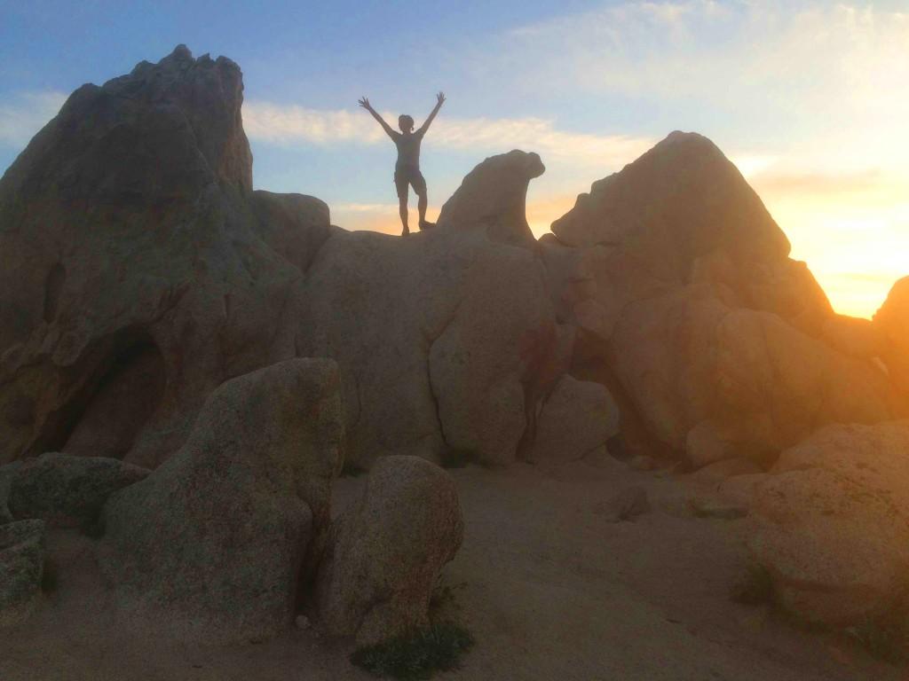 Jessica at sunrise