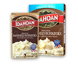Idahoan® Original Mashed Potatoes - Idahoan Mashed Potatoes ... on bob evans mashed potatoes microwave, make cookies in microwave, make eggs in microwave, make french fries in microwave,