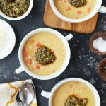 Idahoan Roasted Garlic and Parmesan Potato Soup