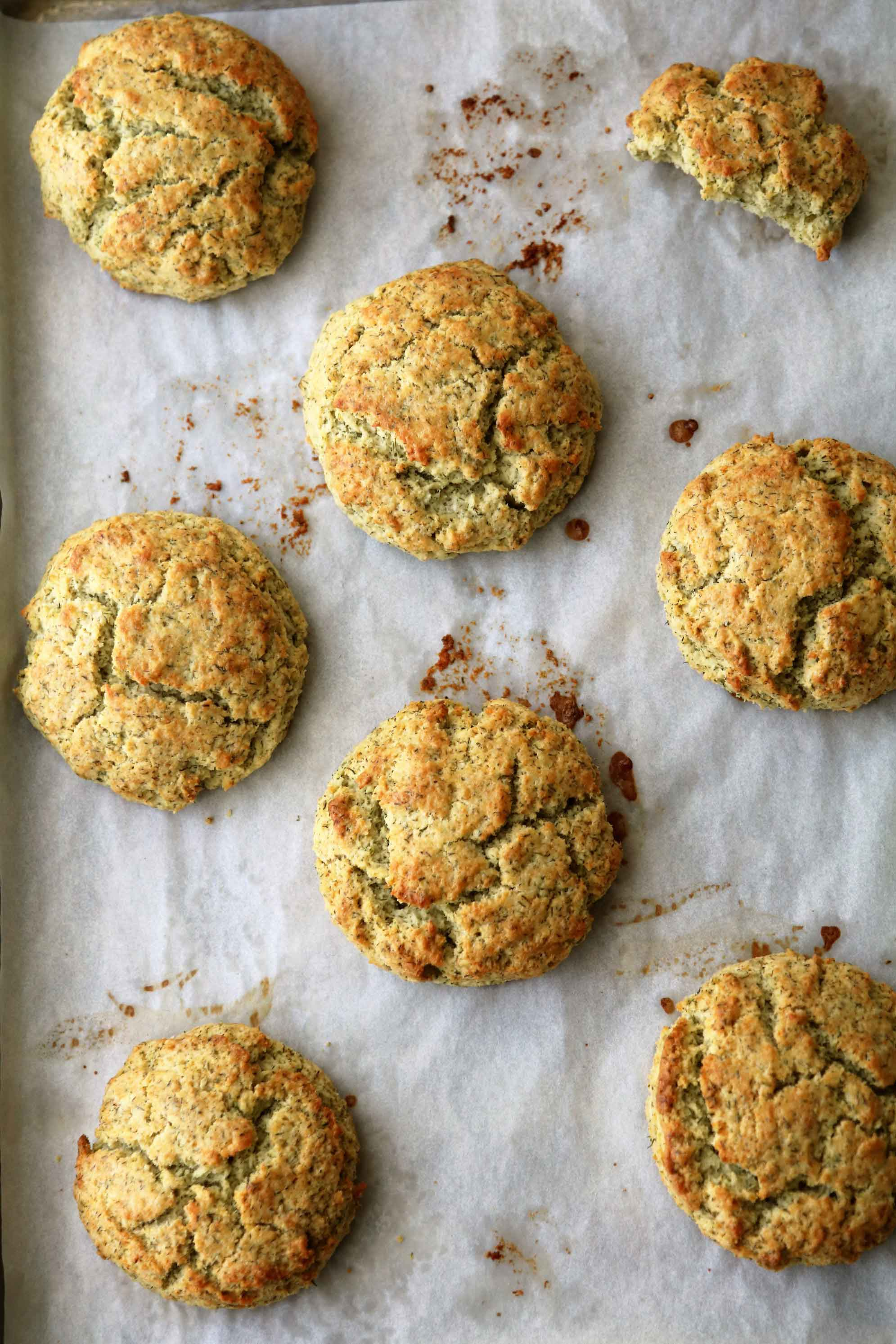 Potato Dill Biscuits