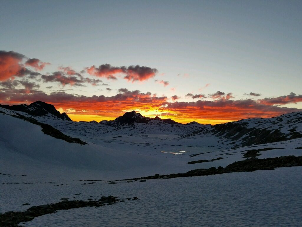 PCT-sunset
