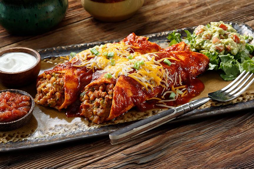 Idaho Enchiladas Tarta de Carne Recipe