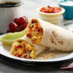 Bretts Super Amazing Breakfast Burritos with Hash Browns