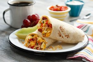 Bretts Super Amazing Breakfast Burritos with Hash Browns
