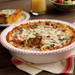 Idahoan Breakfast Quiche with Gluten Free Crust