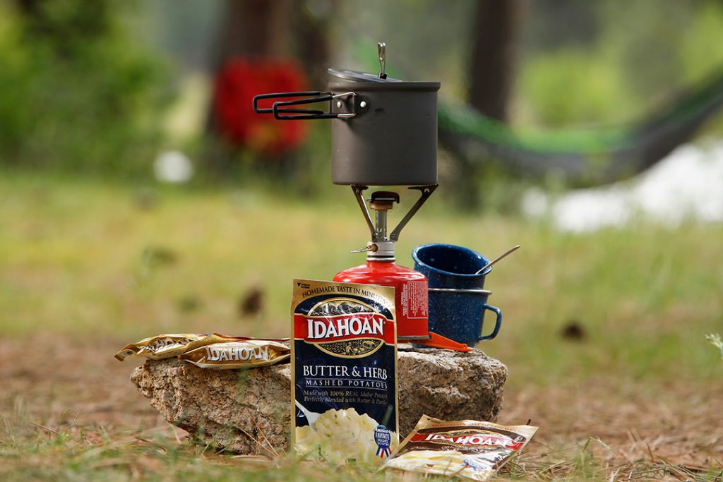 Idahoan is perfect for backpacking