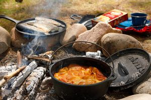 Camping Scalloped Potatoes