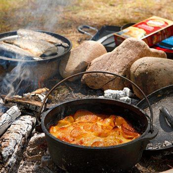 Camping Scalloped Potatoes