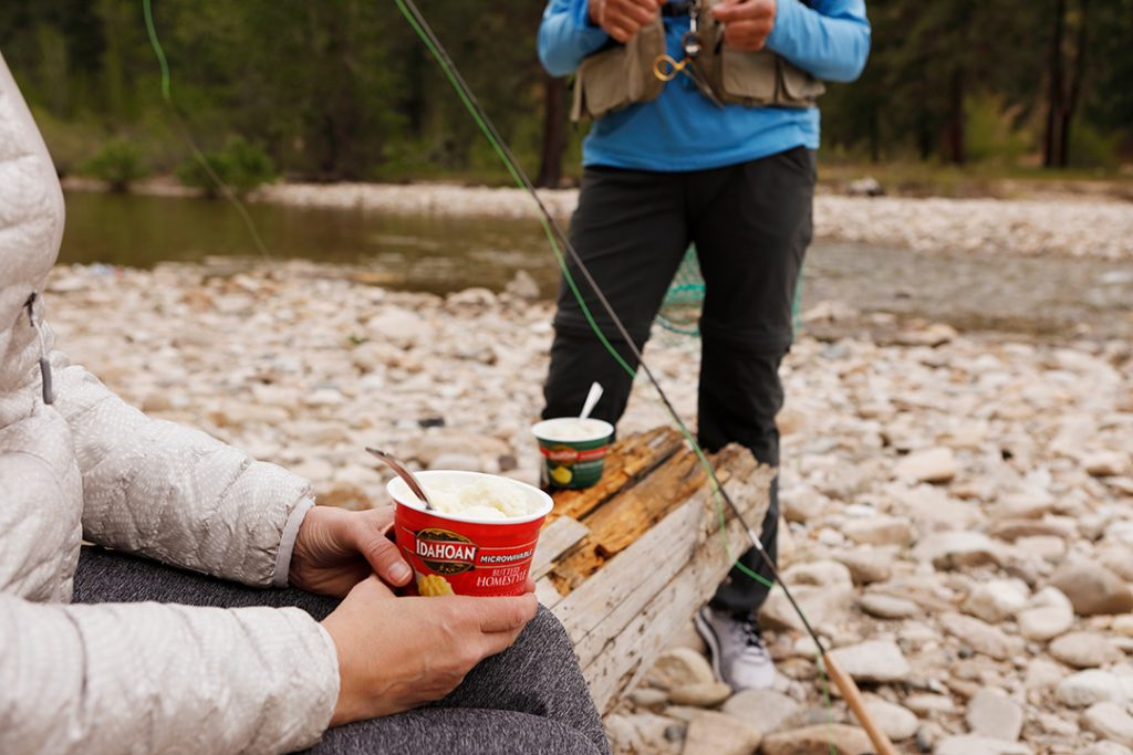 Idahoan cups are perfect for outdoor activities