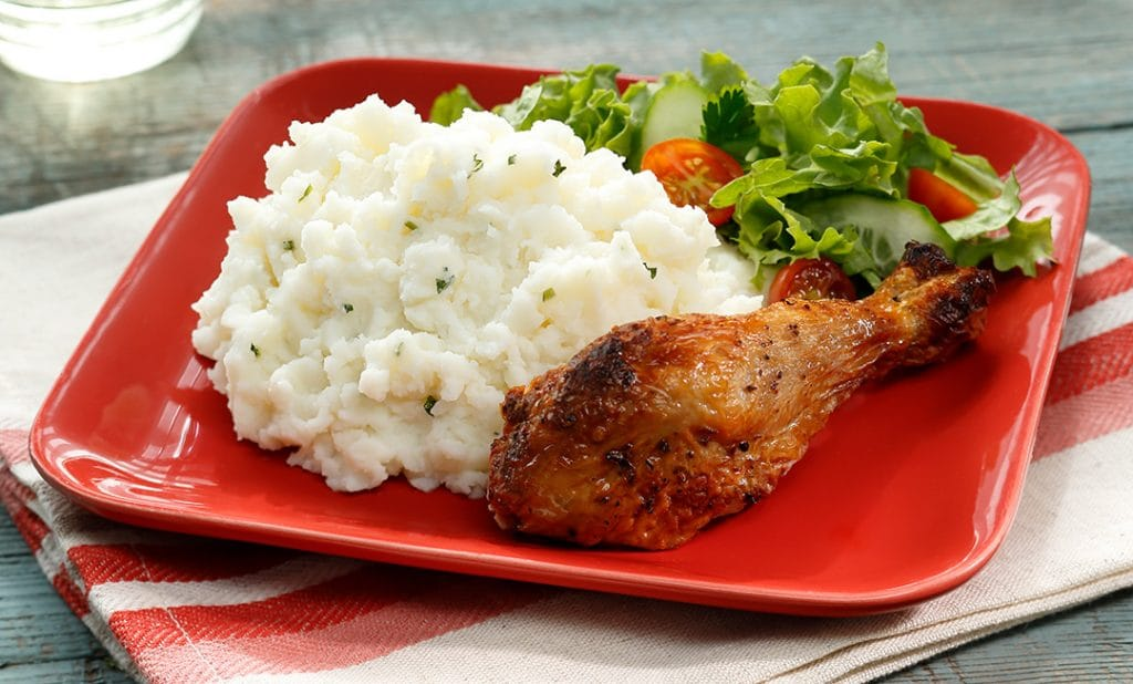 Easy dinner with rotisserie chicken