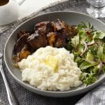 Fresh-dried mashed potatoes take the work out of mashed potatoes!