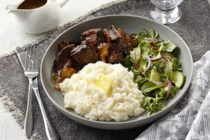 Buttery Homestyle Mashed Potatoes are gluten free.