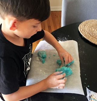 What can you create with Mashed Potato Play Dough?
