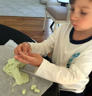 Time to get creative with Mashed Potato Play Dough.