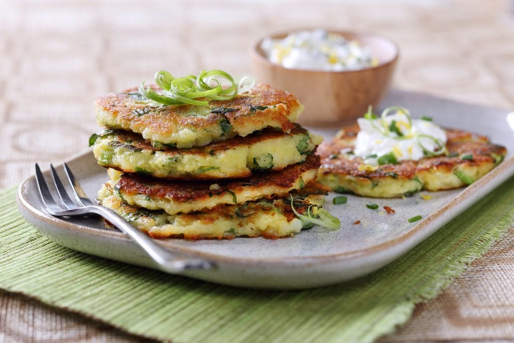 These Potato, Kale and Onion Cakes are packed with protein!