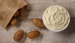 Idahoan mashed potatoes are the perfect pantry staple