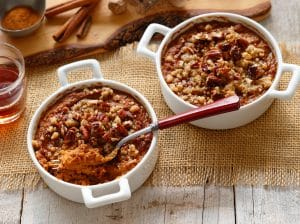 Honest Earth Sweet Potato Casserole with Pecan Topping